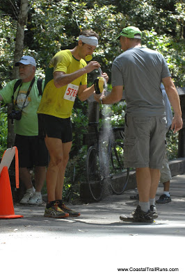 Erich Wegscheider at the 2013 Big Basin 50K.